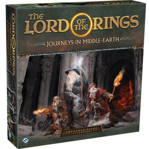 Fantasy Flight Games Journeys in Middle-earth  Lord of The Rings: Journeys in Middle-Earth Journeys in Middle-earth: Shadowed Paths Expansion - FFGJME05 - 841333110338