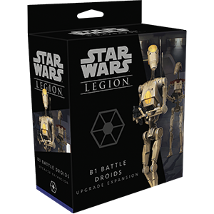 Fantasy Flight Games Star Wars: Legion  Separatist Alliance - Legion Star Wars Legion: B1 Battle Droids Upgrade - FFGSWL54 - 841333109523