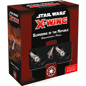 Fantasy Flight Games Star Wars: X-Wing  The Galactic Republic - X-wing Star Wars X-Wing: Guardians of the Republic Squadron Pack - FFGSWZ32 - 841333107284