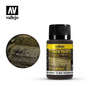 Vallejo   Weathering Effects Weathering Effects 40ml - Russian Thick Mud - VAL73808 - 8429551738088