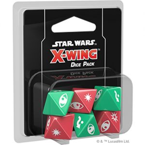 Fantasy Flight Games Star Wars: X-Wing  X-Wing Essentials Star Wars X-Wing: Dice Pack - FFGSWZ05 - 841333105624