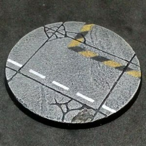 Baker Bases   Concrete Concrete: 80mm Round Bases (1) - CB-CN-01-80M - CB-CN-01-80M