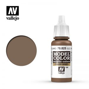 Vallejo   Model Colour Model Color: German Cam Pale Brown - VAL70825 - 8429551708258
