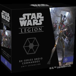 Fantasy Flight Games Star Wars: Legion  Separatist Alliance - Legion Star Wars Legion: BX-series Droid Commandos - FFGSWL72 - 841333111564