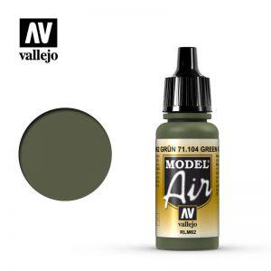 Vallejo   Model Air Model Air: Green RLM62 - VAL104 - 8429551711043