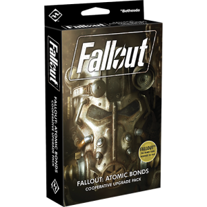 Fantasy Flight Games Fallout: The Board Game  Fallout: The Board Game Fallout: Atomic Bonds - Cooperative Upgrade Pack - FFGZX05 - 841333106140