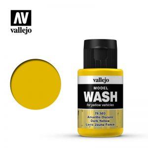 Vallejo   Vallejo Washes Dark Yellow Wash - VAL76503 - 8429551765039