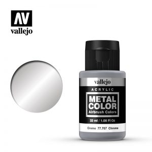 Vallejo   Metal Colour Metal Color - Chrome 32ml - VAL77707 - 8429551777070