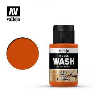 Vallejo   Vallejo Washes Rust Wash - VAL76506 - 8429551765060