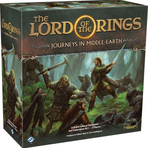 Fantasy Flight Games Journeys in Middle-earth  Lord of The Rings: Journeys in Middle-Earth The Lord of the Rings: Journeys in Middle-Earth - FFGJME01 - 841333107086