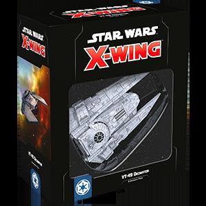 Fantasy Flight Games Star Wars: X-Wing  The Galactic Empire - X-wing Star Wars X-Wing: VT-49 Decimator - FFGSWZ43 - 841333108106