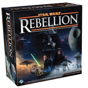 Fantasy Flight Games Star Wars: Rebellion  Star Wars Star Wars Rebellion - FFGSW03 - 841333101053