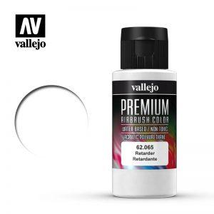 Vallejo   Premium Airbrush Colour Premium Color 60ml: Retarder - VAL62065 - 8429551620659