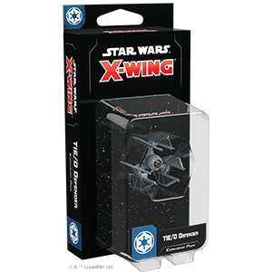 Fantasy Flight Games Star Wars: X-Wing  The Galactic Empire - X-wing Star Wars X-Wing: TIE/D Defender - FFGSWZ60 - 841333110260
