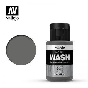 Vallejo   Vallejo Washes Grey Wash - VAL76516 - 8429551765169