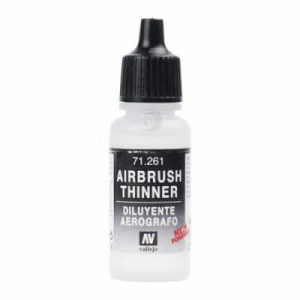 Vallejo   Vallejo Extras Model Air - Thinners 17ml - VAL261 - 8429551712613