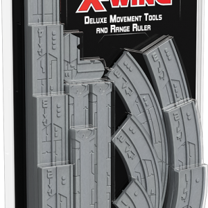 Fantasy Flight Games Star Wars: X-Wing  X-Wing Essentials Star Wars X-Wing: Deluxe Movement Tools & Range Ruler - FFGSWZ46 - 841333108137