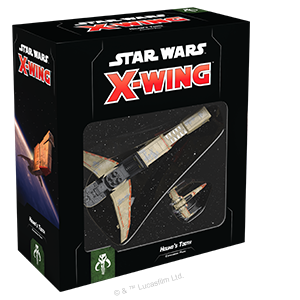 Fantasy Flight Games Star Wars: X-Wing  Scum & Villainy - X-wing Star Wars X-Wing: Hound's Tooth - FFGSWZ58 - 841333110246
