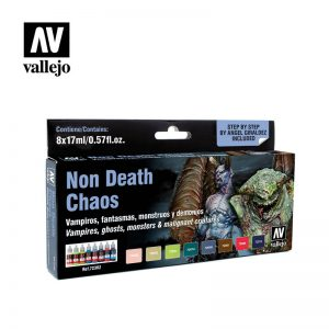 Vallejo   Paint Sets Vallejo Game Color - Non Death Chaos Set - VAL72302 - 8429551723022