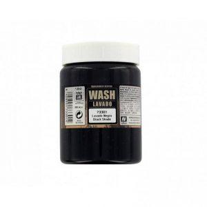 Vallejo   Vallejo Washes Dipping Formula: Black Wash 200ml - VAL73301 - 8429551733014
