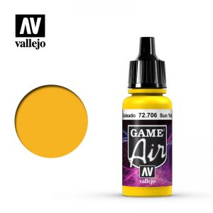 Vallejo   Game Air Game Air: Sun Yellow - VAL72706 - 8429551727068