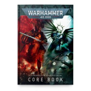Games Workshop Warhammer 40,000  Warhammer 40000 Essentials Warhammer 40000: 9th Edition Rulebook - 60040199124 - 9781788269865