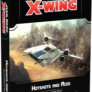 Fantasy Flight Games Star Wars: X-Wing  X-Wing Essentials Star Wars X-Wing: Hotshots and Aces Reinforcements Pack - FFGSWZ66 - 841333110321