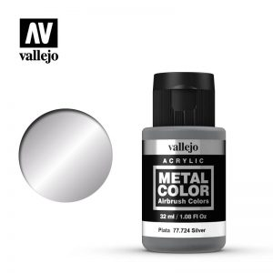 Vallejo   Metal Colour Metal Color - Silver 32ml - VAL77724 - 8429551777247
