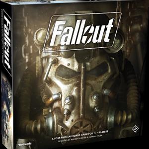 Fantasy Flight Games Fallout: The Board Game  Fallout: The Board Game Fallout: The Board Game - FFGZX02 - 841333104252