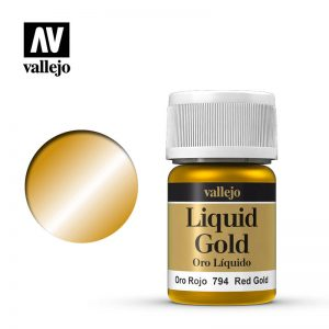 Vallejo   Liquid Gold Vallejo Liquid Red Gold - VAL70794 - 8429551707947