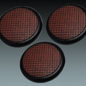 Baker Bases   Small Tiles Small Tiles: 50mm Round Bases (Lipped) (3) - CB-ST-03-50M - CB-ST-03-50M