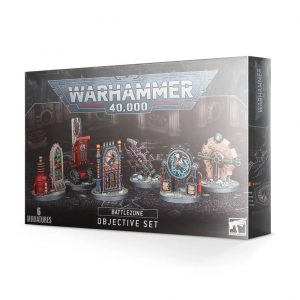 Games Workshop Warhammer 40,000  Warhammer 40000 Essentials Battlezone: Manufactorum Objective Set - 99220199078 - 5011921133871