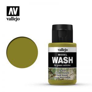 Vallejo   Vallejo Washes Dark Green Wash - VAL76512 - 8429551765121