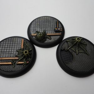 Baker Bases   Infested Infested: Wround 50mm Bases (3) - CB-AV-03-50M - CB-AV-03-50M