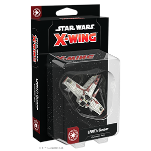 Fantasy Flight Games Star Wars: X-Wing  The Galactic Republic - X-wing Star Wars X-Wing: LAAT/i Gunship - FFGSWZ70 - 841333111175