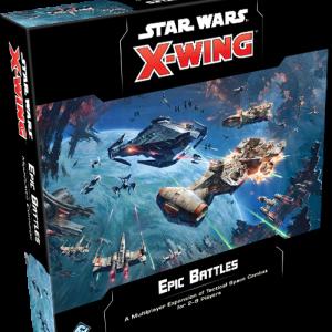 Fantasy Flight Games Star Wars: X-Wing  X-Wing Essentials Star Wars X-Wing: Epic Battles (Multiplayer Expansion) - FFGSWZ57 - 841333109165