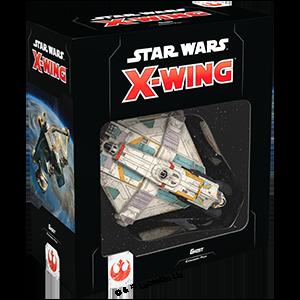 Fantasy Flight Games Star Wars: X-Wing  The Rebel Alliance - X-wing Star Wars X-Wing: Ghost - FFGSWZ49 - 841333109127