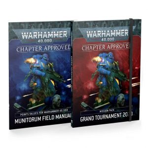 Games Workshop Warhammer 40,000  Warhammer 40000 Essentials Chapter Approved: Grand Tournament 2020 Mission Pack and Munitorum Field Manual - 60040199125 - 9781839060557