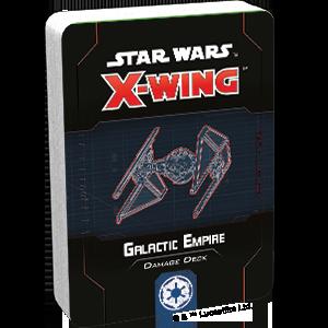 Fantasy Flight Games Star Wars: X-Wing  The Galactic Empire - X-wing Star Wars X-Wing: Galactic Empire Damage Deck - FFGSWZ73 - 841333110895