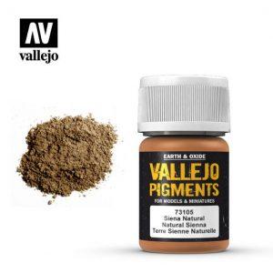 Vallejo   Pigments Vallejo Pigment - Natural Sienna - VAL73105 - 8429551731058