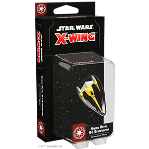 Fantasy Flight Games Star Wars: X-Wing  The Galactic Republic - X-wing Star Wars X-Wing: Naboo Royal N-1 Starfighter - FFGSWZ40 - 841333108076