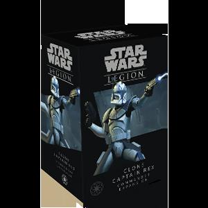 Fantasy Flight Games Star Wars: Legion  The Galactic Republic - Legion Star Wars Legion: Clone Captain Rex - FFGSWL46 - 841333109226