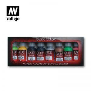 Vallejo   Paint Sets Vallejo Game Color - Orc & Goblins Set - VAL72304 - 8429551723046