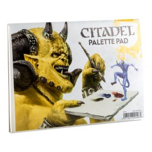 Games Workshop (Direct)   Citadel Tools Citadel Palette Pad - 9923999907806 - 5011921053483