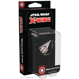 Fantasy Flight Games Star Wars: X-Wing  The Galactic Republic - X-wing Star Wars X-Wing: Nimbus-class V-wing Expansion Pack - FFGSWZ80 - 841333111915