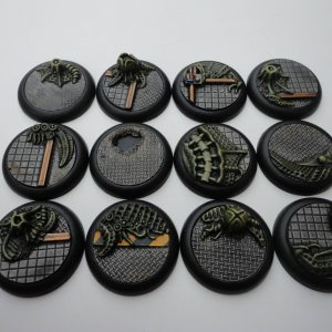 Baker Bases   Infested Infested: Wround 30mm Bases (12) - CB-AV-03-30M - CB-AV-03-30M