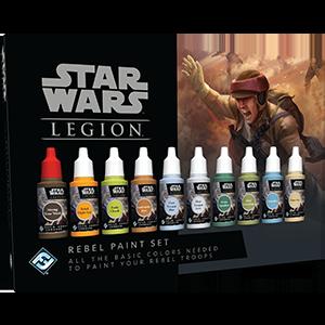 Fantasy Flight Games   The Rebel Alliance - Legion Star Wars Legion: Rebel Paint Set - FFGSWS54 - 841333109073