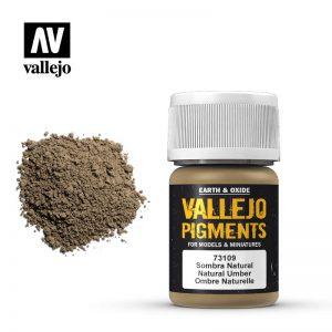 Vallejo   Pigments Vallejo Pigment - Natural Umber - VAL73109 - 8429551731096