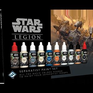 Fantasy Flight Games   Paint Sets Star Wars Legion: Separatist Paint Set - FFGSWS56 -