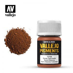 Vallejo   Pigments Vallejo Pigment - Burnt Sienna - VAL73106 - 8429551731065